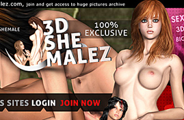 3d Shemales in hardcore Porn Comics